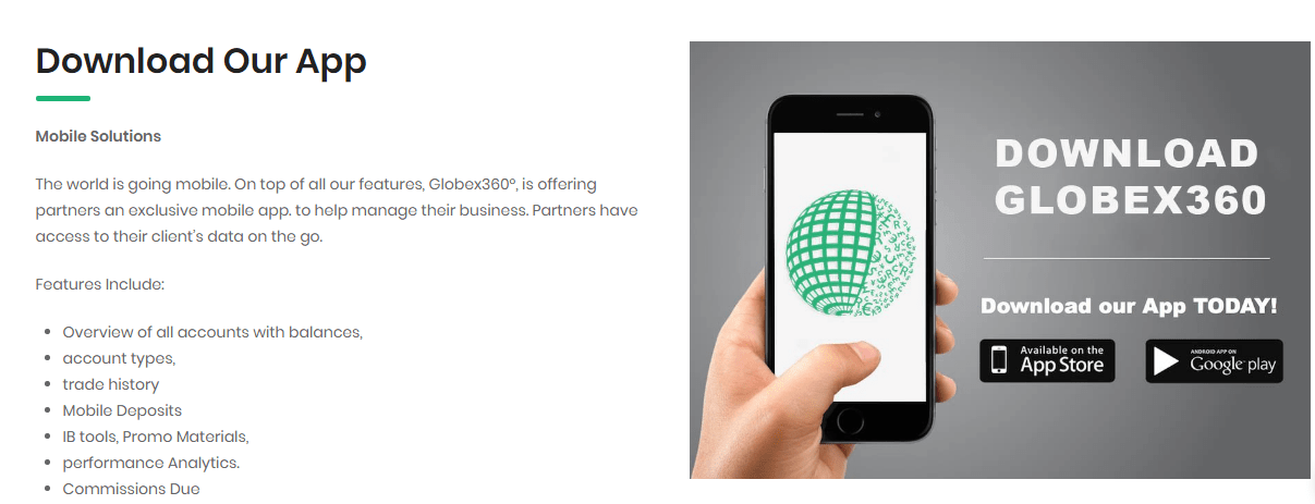Globex360 Mobile Application