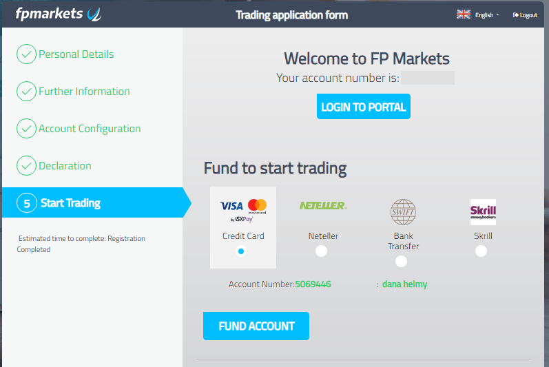 FP Markets Opening An Account -5