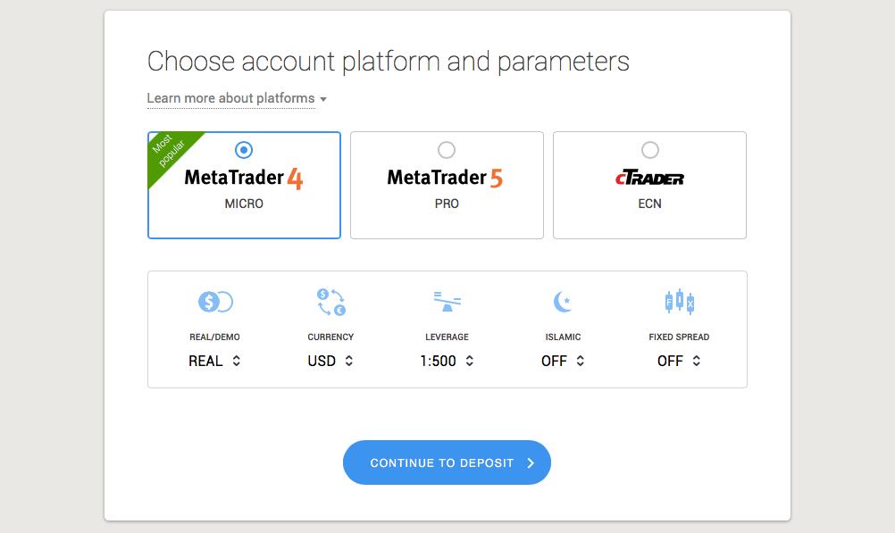 OctaFX Opening an Account -4