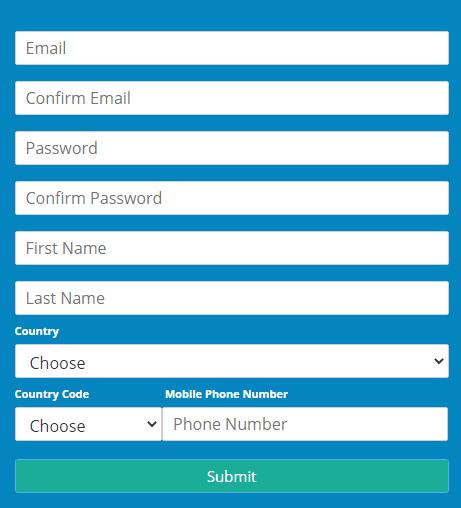 FXtrading.com Live Account Step 1