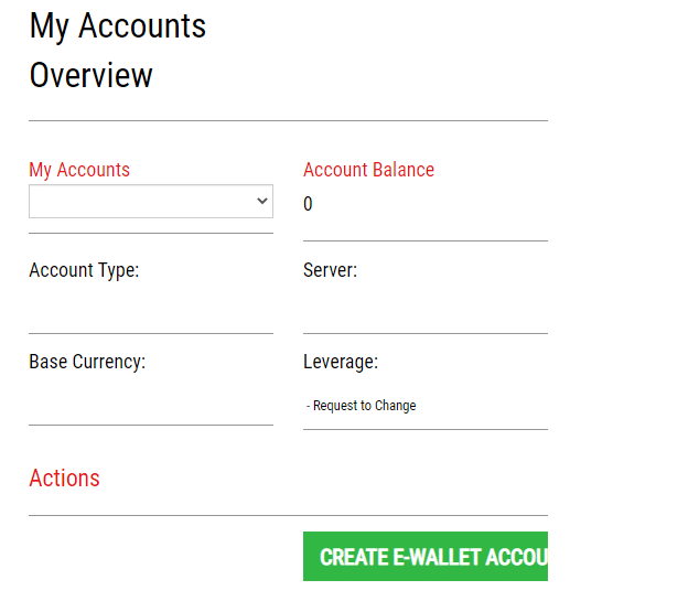 IronFX Live Account Step 2