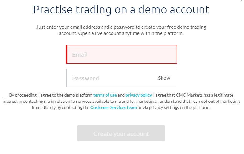 CMC Markets Demo Account -2