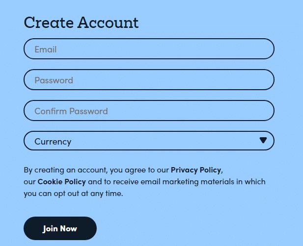 MarketsX Account -1